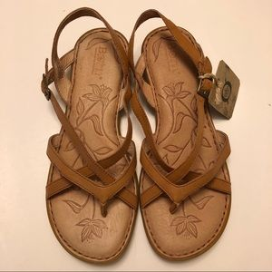 BORN Valmar strappy slingback comfortable sandal
